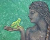 Art Print Frog Princess K...