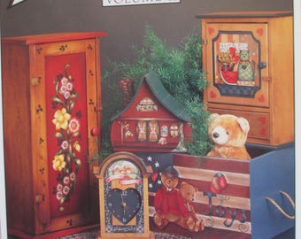 "1991 Decorative Tole painting "" By Request Vol II""   various artists used booklet 40 pages"