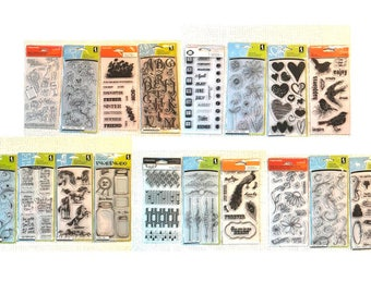 YouTube Special #17-53 5 stamp sets, choose any 5 of the 18 cc21
