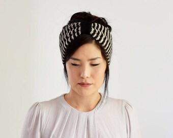 Alpaca Ear Warmers, Knit Headband Women, Winter Headband, Gifts for Her