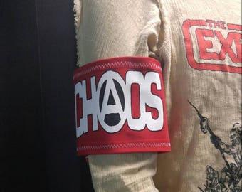 Arm band 2 CHAOS seditionaries punk