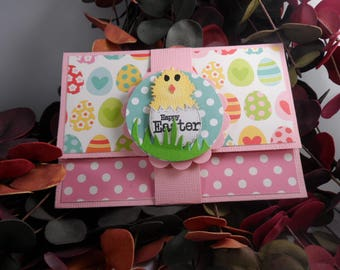 Gift card holder etsy easter gift card holder easter card gift card holder easter money holder negle Image collections