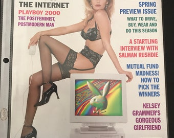 Playboy Magazine - Women of the Internet - April 1996