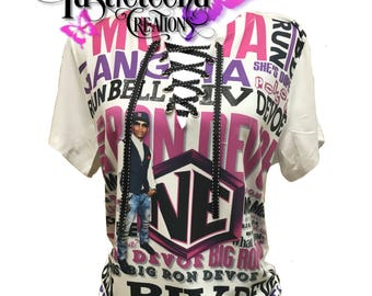 Big Ron Devoe NE/BBD fitted tee