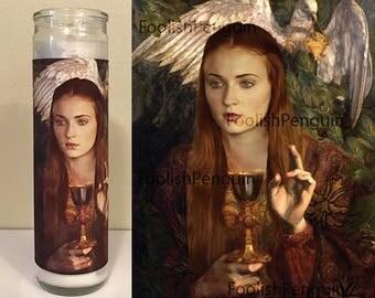Sansa Stark Devotional Candle