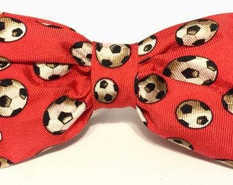 Kids Soccer Bow Tie
