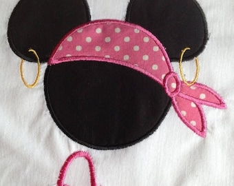 Disney Pirate Mate Minnie - Personalized - Youth