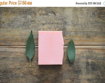 25% OFF CLEARANCE SALE Tea Tree Soap | Essential Oil Handmade Cold Process Body Wash Bar, Vegan, All Natural Herbal Shampoo, Homemade Facial