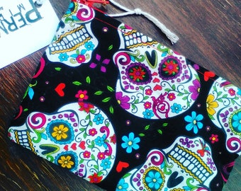 skull candy coin purse