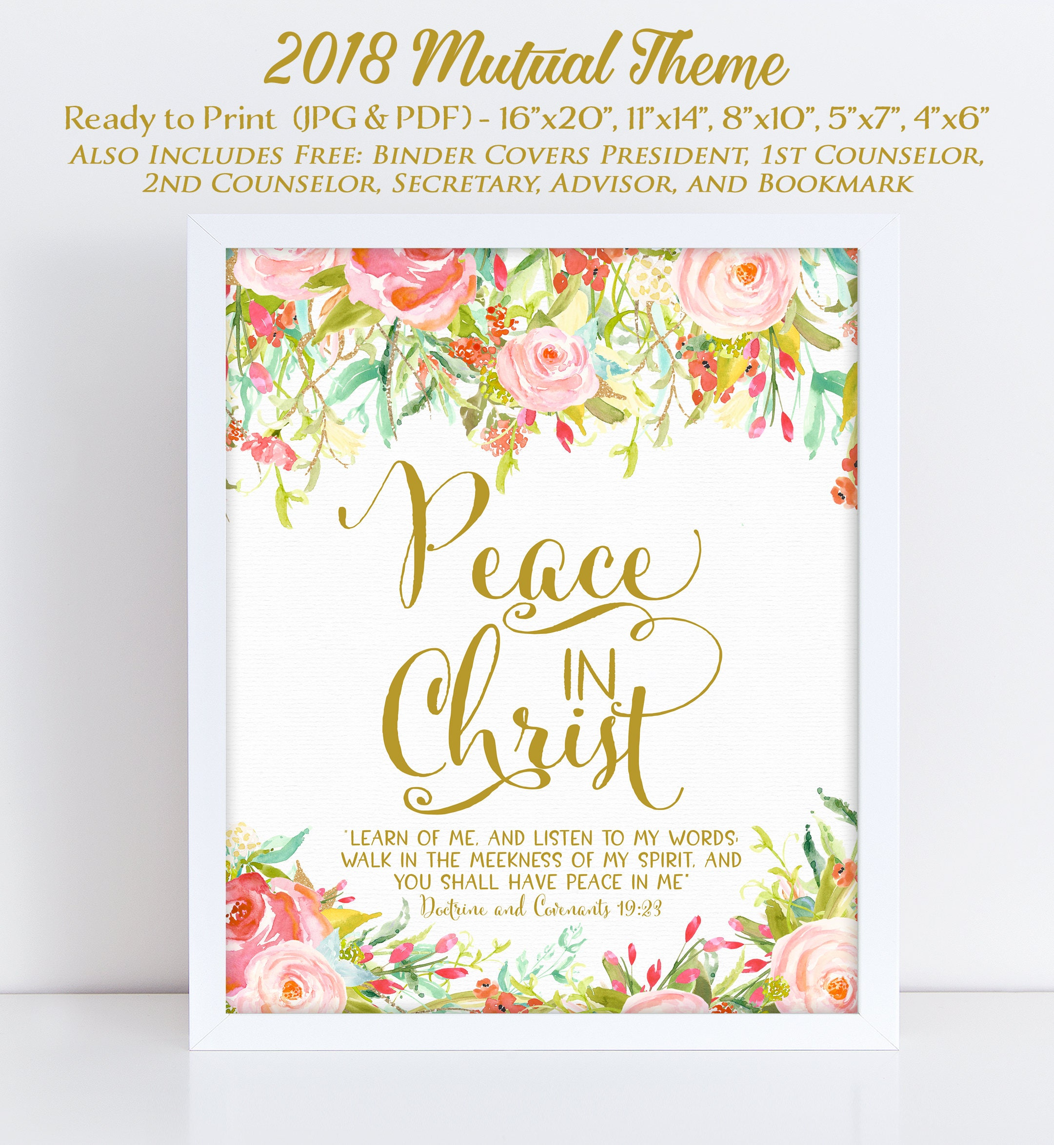 Lds Young Women Theme 2018 Mutual Theme 2018 Doctrine And