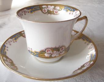 English China Tea Cup and Saucer Standard China