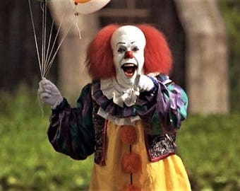"Pennywise the Creepy Clown from the film  "" IT ''"