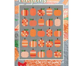 Pumpkins Quilt Pattern by Cluck Cluck Sew