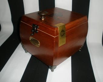 Gurkha Cigar Box Valet, Watch Box, Stash Box, Guy Gift, Groomsman Gift, Authentic, Tampa
