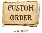 Custom order 138 - Bunny
