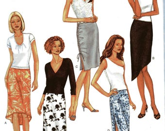 Butterick Fast & Easy Pattern 3392 SKIRTS  Misses Sizes 12 14 16