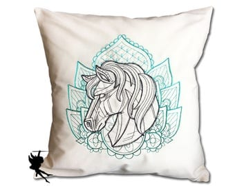 Horse Cushion Pillow case