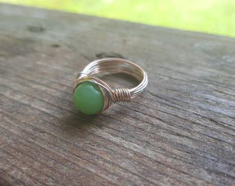 Elegant Wire Ring