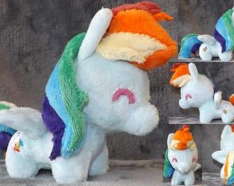 Rainbow Dash Mini Chibi Plush