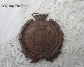 Antique medal /pendant 1890