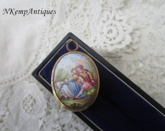 Antique  locket 1890 for the collector