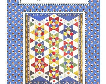 Dream Big Quilt Pattern by Sandy Klop of American Jane Patterns