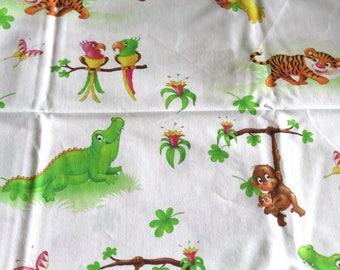 Fabric coupon child jungle 50 * 70cm