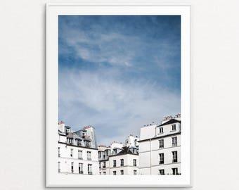 Paris Photography, Paris Rooftops, Paris Print, Paris Wall Art, Paris Bedroom Decor, Paris Photo, Paris Pictures, Home Decor