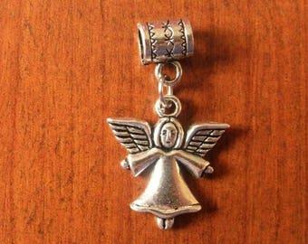 Silver girl Angel pendant