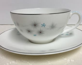 Royal Doulton, Tea Cup and Saucer, Thistledown, Vintage Tea Cup, Fine Bone China, Dinnerware, Tea Party, Gift for Grandma, Vintage, gift