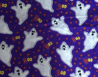Halloween cotton fabric, ghost fabric, holiday fabric