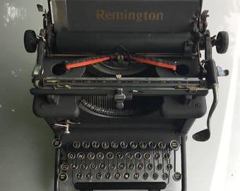 A vintage 1930 s Remington typewriter