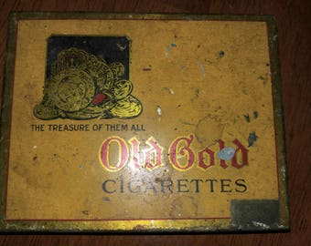 Old Gold Cigarette Tin