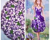 Violets on Parade for Barbie, FR, and Victoire Roux