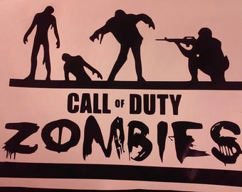 Call of Duty Zombies Decal/Call of Duty/ Call of Duty Zombies