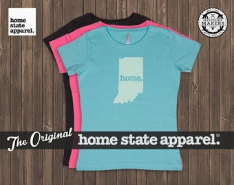 Indiana Home. T-shirt- Women's Relaxed Fit