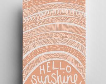 Hello Sunshine - A3 Print