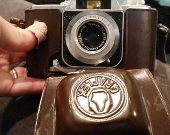 Graflex prominar camera 45mm lens with case