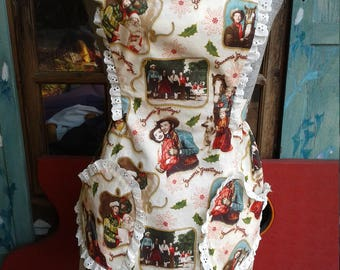 Vintage Retro dale Evans and Roy Roger's Christmas apron