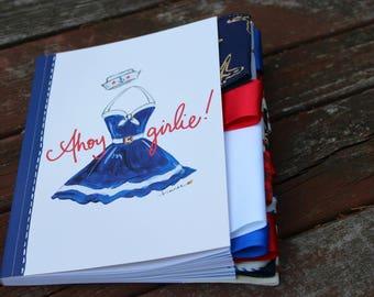 Ahoy Girlie Altered Journal (Option 2)