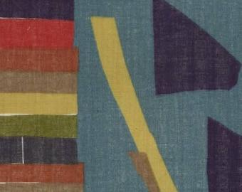 Wonder World (Gauze Fabric) by Nani Iro from the 2017 collection for Kokka #KOKJG10530001B by 1/2 yard