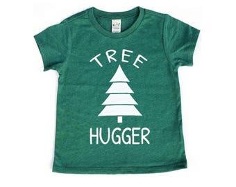 Tree Hugger Toddler Shirt Baby Shirt Toddler Tee Baby Girl Clothing Baby Shirt Baby Clothes Toddler Christmas Shirt