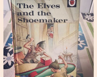 Vintage Ladybird 'Well Loved' Childrens Tales - The Elves and the Shoemaker - 606D