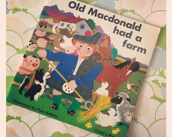 Old MacDonald had a farm - Ilustrations by Pam Adams by Childs Play circa 1975