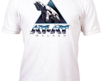Limited Edition White Fan At-At Walker Shirt All sizes up to Plus 2x 3x 4x 5x