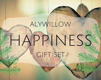 HAPPINESS Gift Set || Moisturizer, Vegan Soap, & Room Spray to help increase Happy Hormones || Stress Reliever || Relaxation