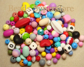 SMART VALUE PACK - Silicone Teething Bead Mix - 100 pcs