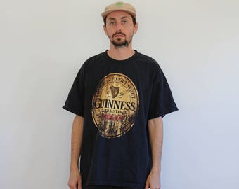 Guinness Beer Shirt Large