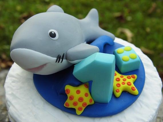 Ocean beach Hawaii theme Baby boy 1st birthday Blue color