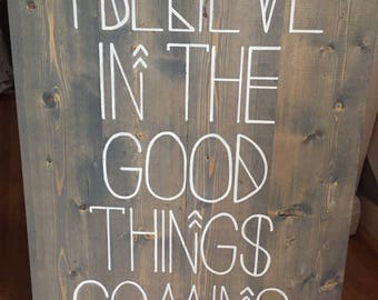 Nahko Bear Sign - I Believe In The Good Things Coming